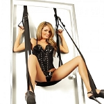 Deluxe Love Door Sling Swing Sex Restraints Couples Kit Handcuffs Straps Hanging And Adjustable