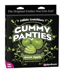 EDIBLE CROTCHLESS GUMMY PANTIES APPLE