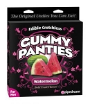 EDIBLE CROTCHLESS GUMMY PANTIES WATERMELON