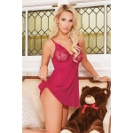 Blush Berry Babydoll and G-String Coquette