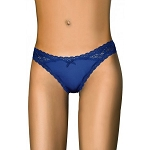 Navy Blue Staple Thong Roma Lingerie